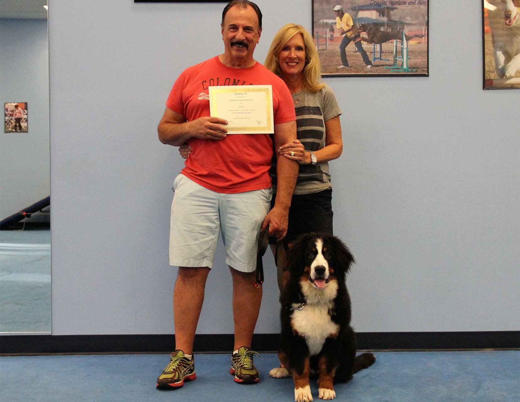 Dog Training Graduate