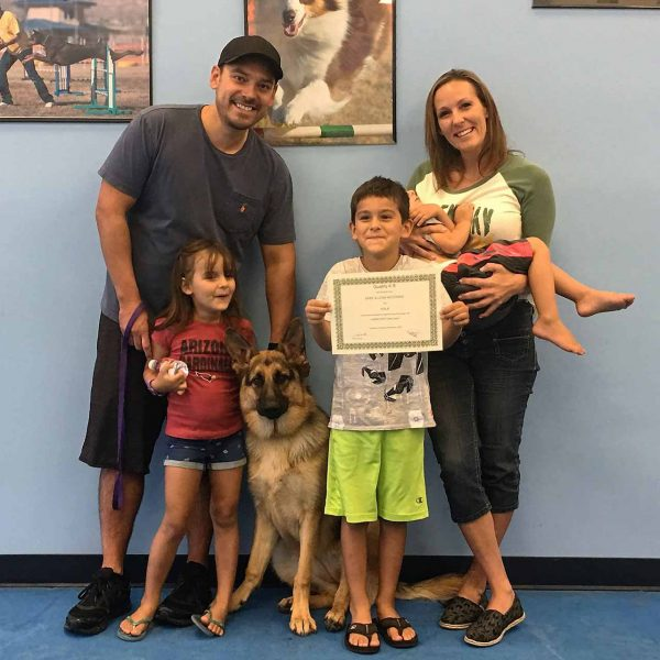 professional dog training, dog training graduate, quality k9